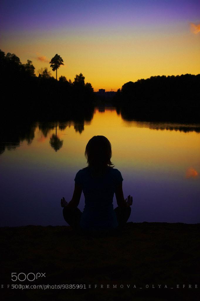 Photograph meditation by Olya Efremova on 500px