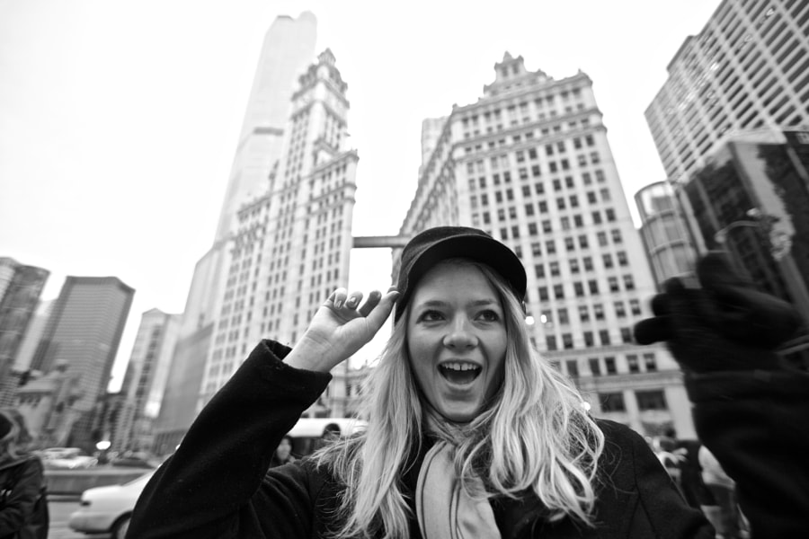 Blonde in the City. by Scott Oldis on 500px.com