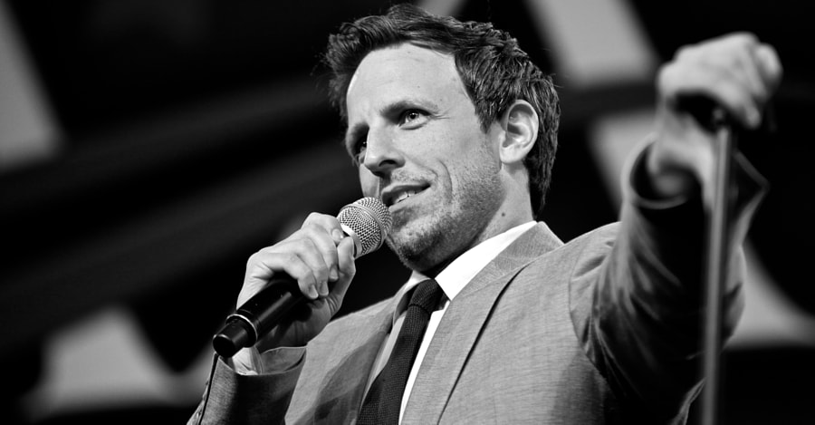 Seth Meyers #2 by Scott Oldis on 500px.com