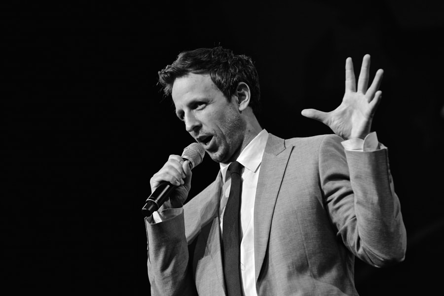 Seth Meyers #3 by Scott Oldis on 500px.com