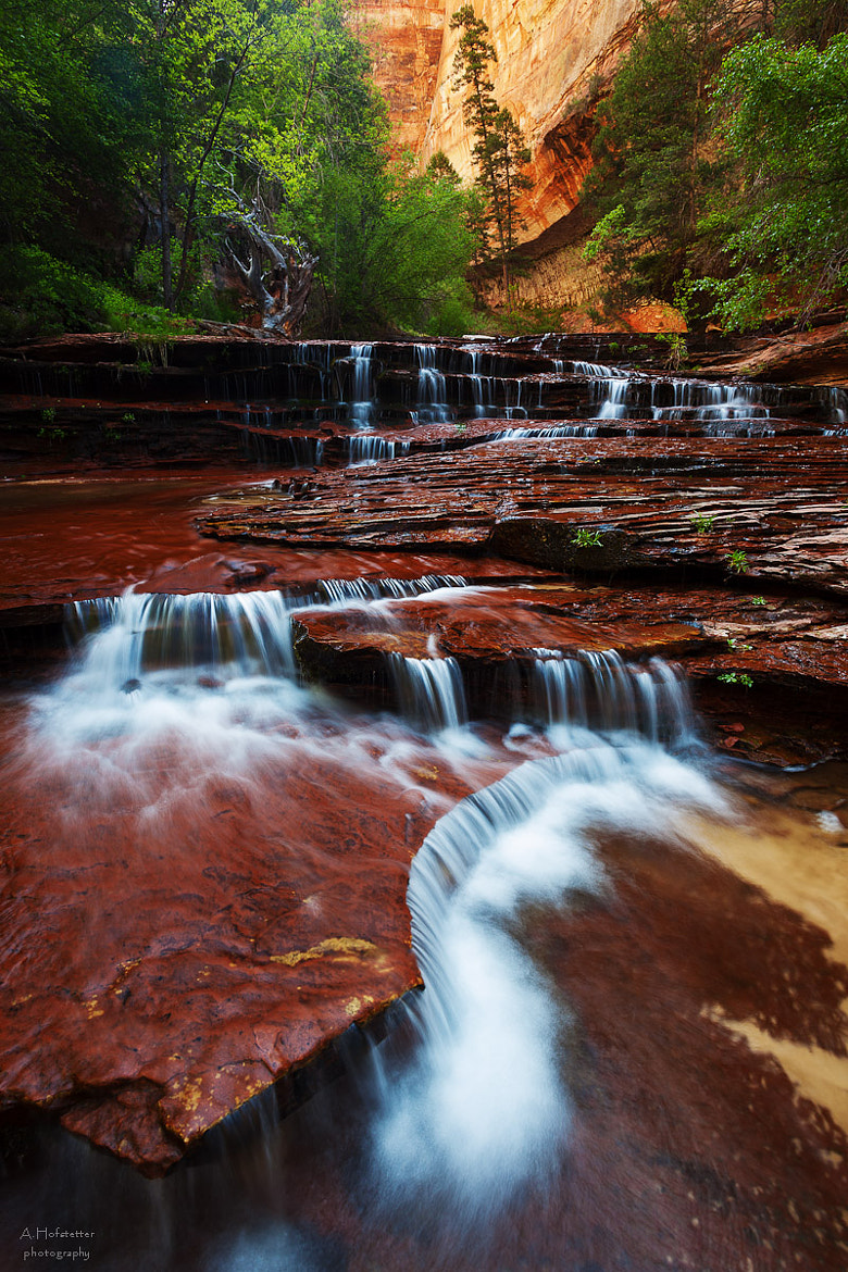 Photograph The Cascades by Andi Hofstetter on 500px