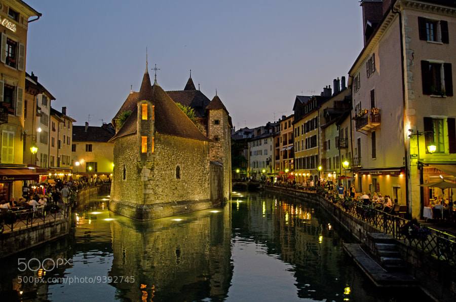 Photograph Annecy - by night 2012 by Kim Schou on 500px