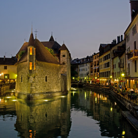 Annecy - by night 2012 by Kim Schou (Woodys)) on 500px.com