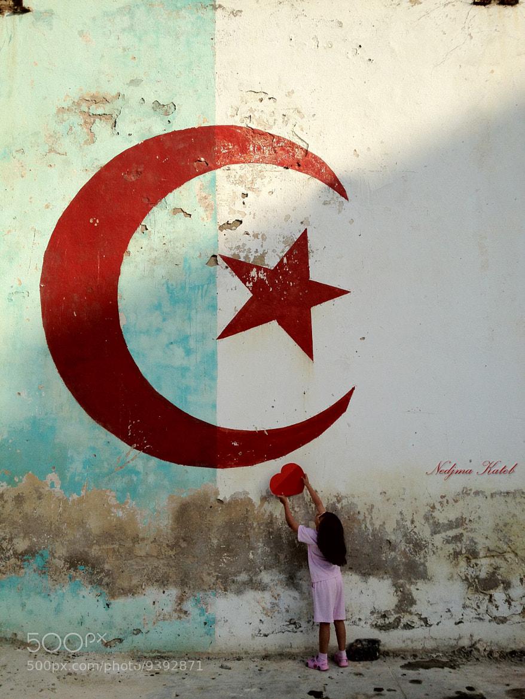 Photograph Mon pays ,mon Amour ... by Nedjma Kateb on 500px