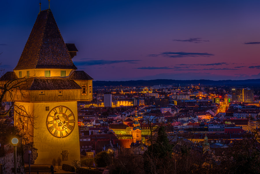Tower clock by Sorin Markus on 500px.com