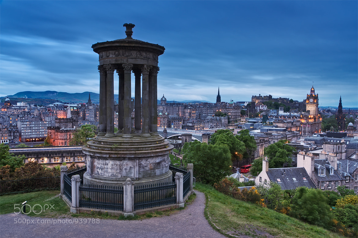 Photograph Edinburgh Blues by Michael  Breitung on 500px