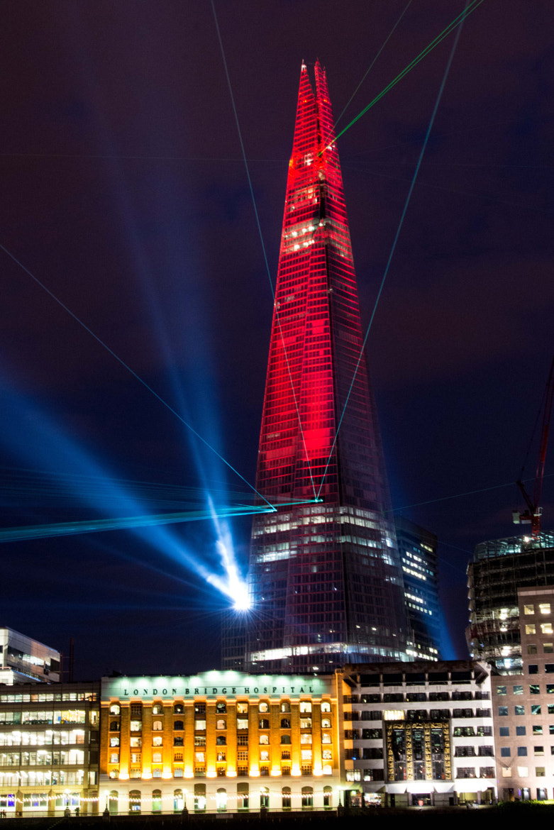 Photograph The Shard London Launch by Michael W Colman on 500px