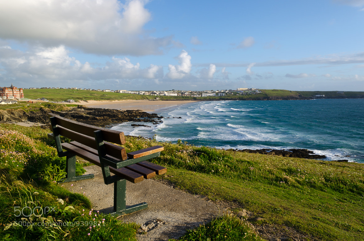 Photograph A View of Fistral by Chris Heald on 500px