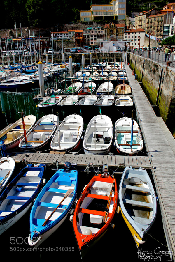 Photograph Boats in San Sebastian by Marco Gregorin on 500px