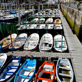 Boats in San Sebastian by Marco Gregorin (MarcoGregorin)) on 500px.com
