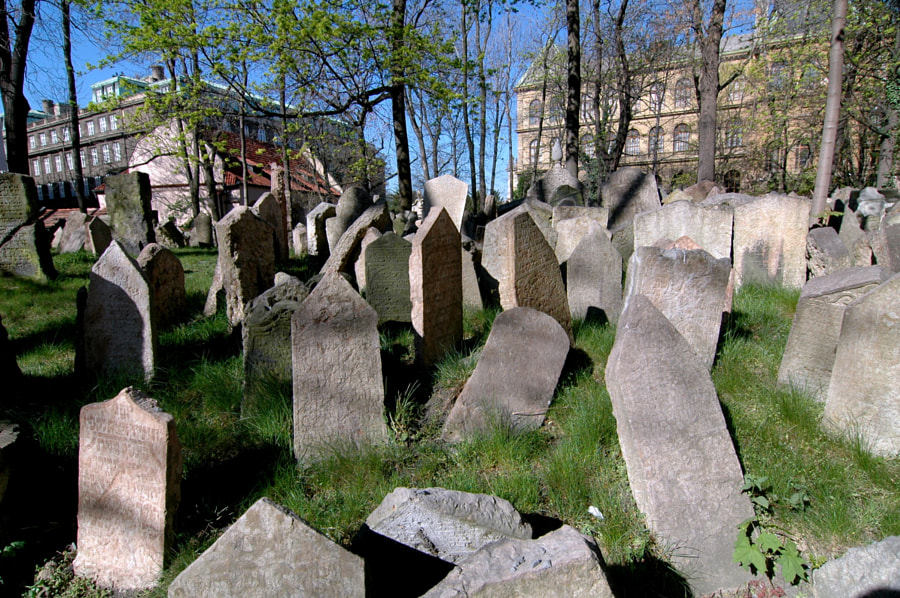 Photograph Prague Old Jewish cemetery by John Melson on 500px