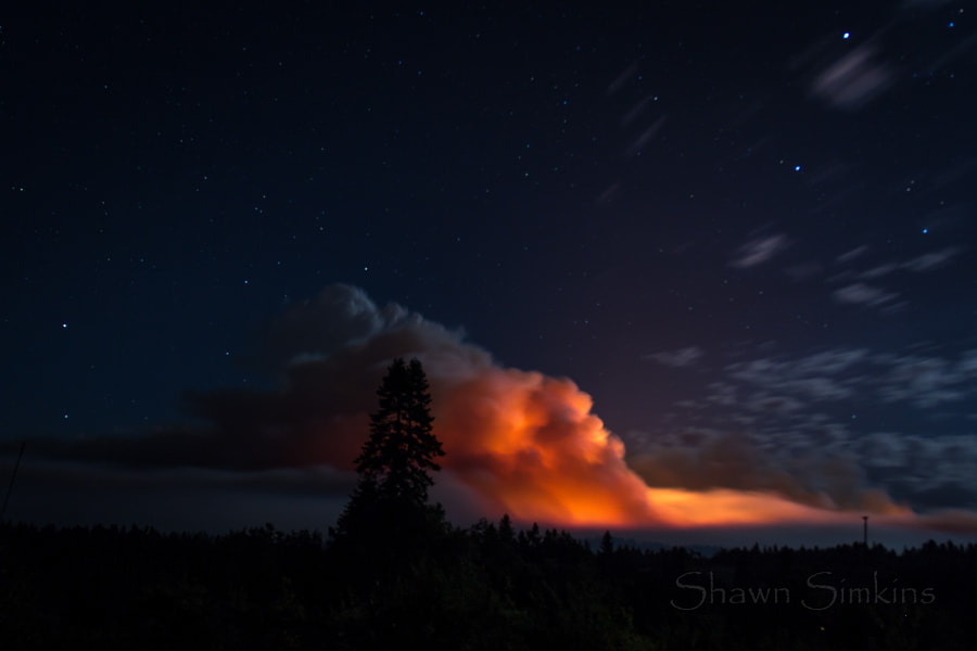 King Fire by Shawn Simkins on 500px.com