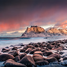 Utakleiv beach, Lofoten, Norway, march 2013. My last posting here for 2014. I wish you all a prosperous and happy 2015!