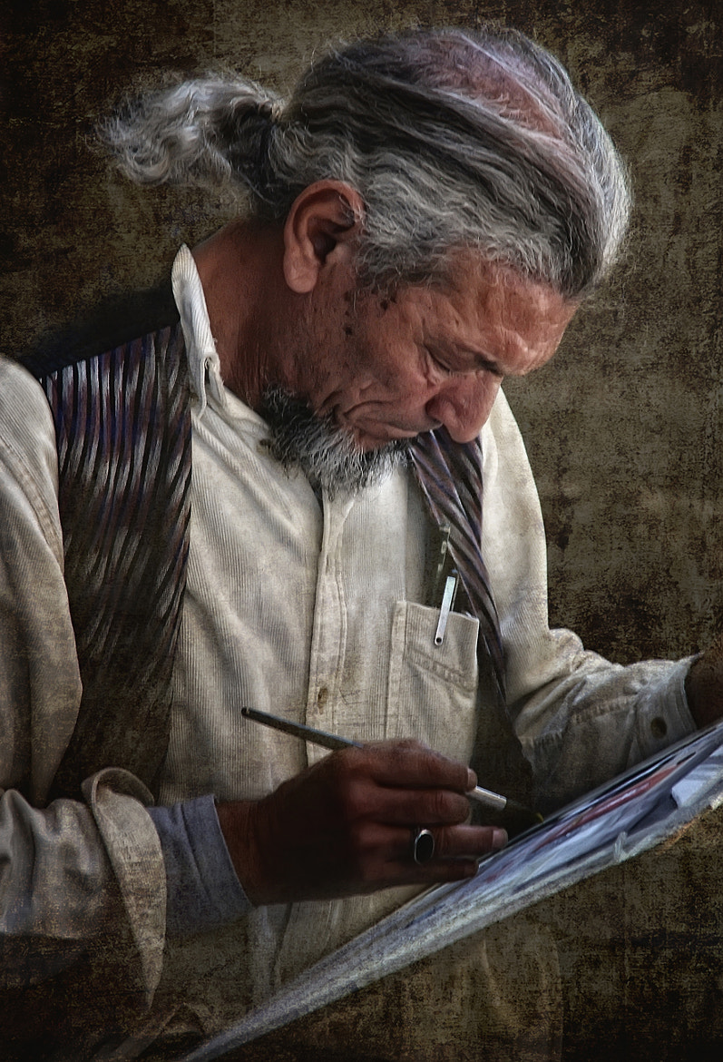 Photograph El pintor by Manuel Lancha on 500px
