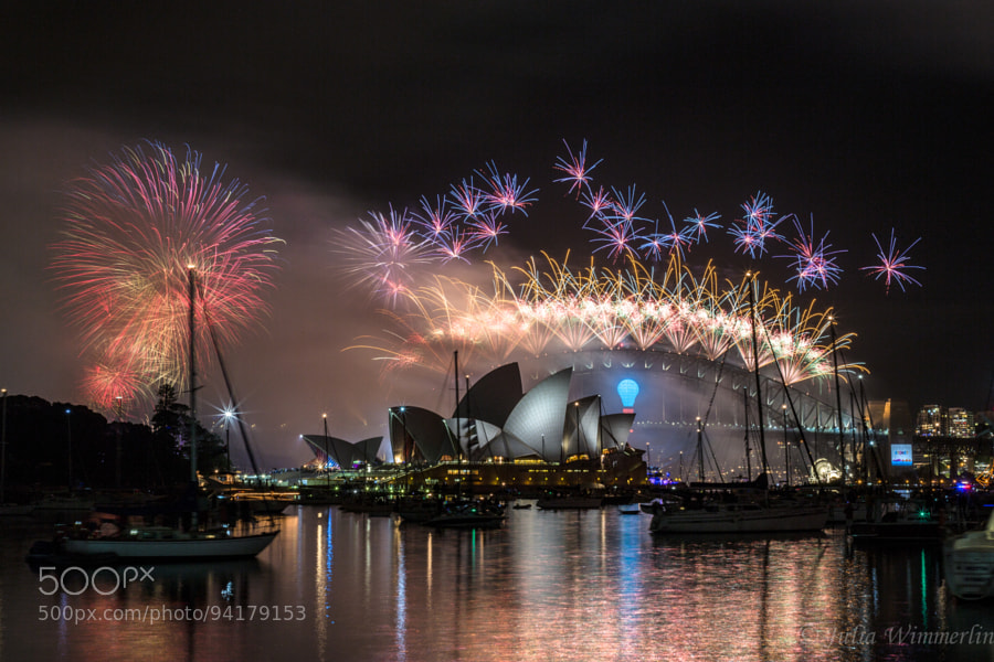 Photograph Happy New Year from Sydney by Julia Wimmerlin on 500px