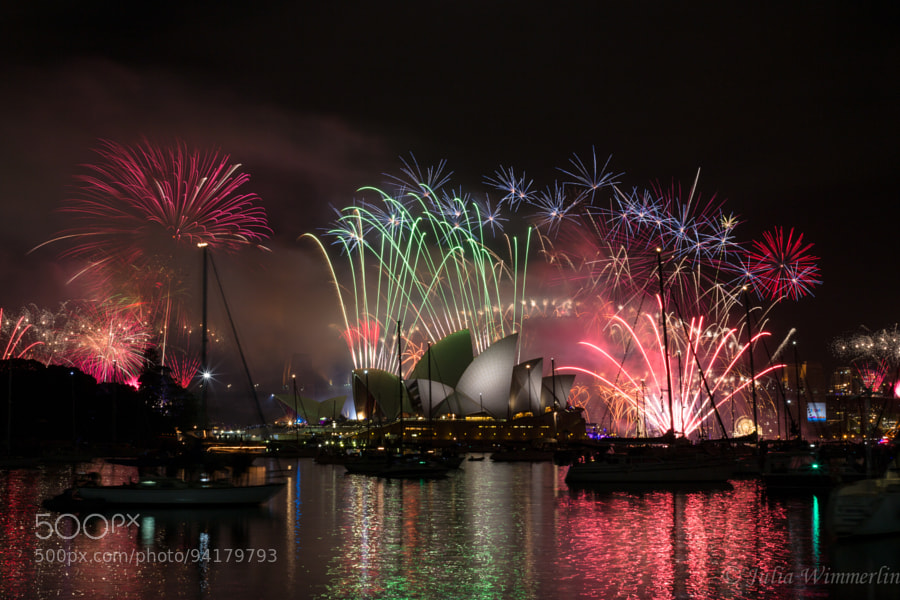 Photograph Happy New Year from Sydney2 by Julia Wimmerlin on 500px