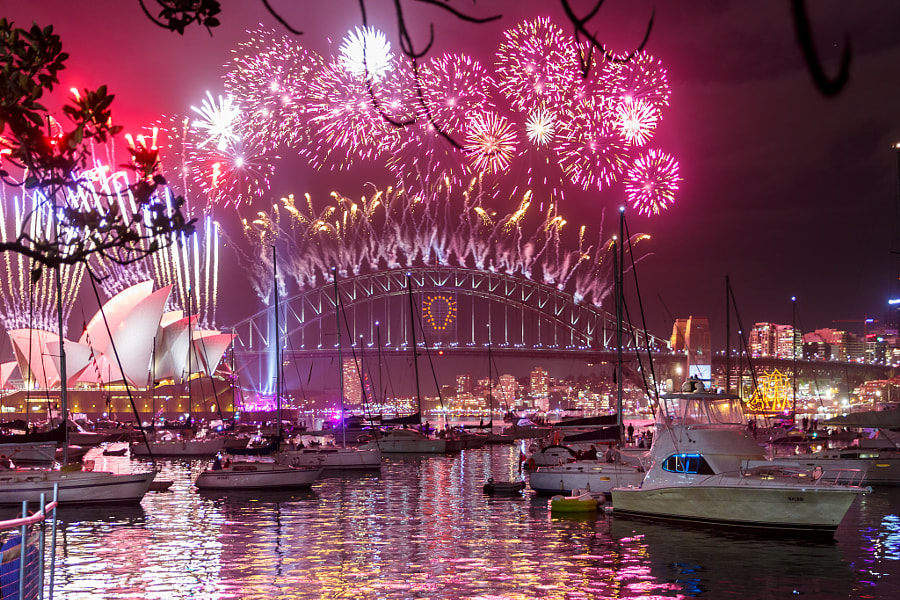 Happy New Year 2015 from Sydney