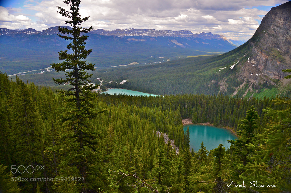 Photograph Lake Louise and Mirror Lake by Vivek Sharma on 500px