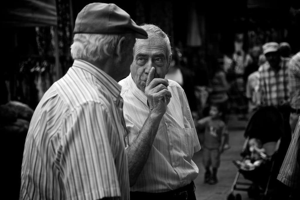 Photograph Silence please - Vic by Joan Vendrell on 500px