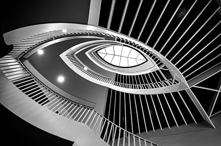 MCA Stairs by Alejandro Santiago on 500px