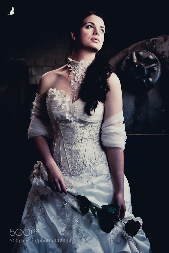 Photograph bride at abandoned factory by Jarno Pors on 500px