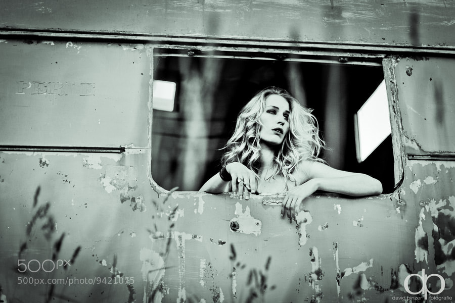 Photograph Trailer Girl by David Pinzer on 500px