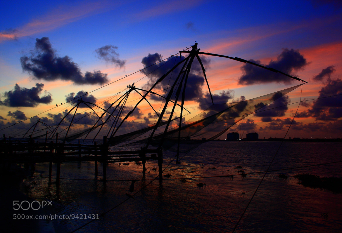 Photograph Chinese fishing net by Pranab Ghosh on 500px