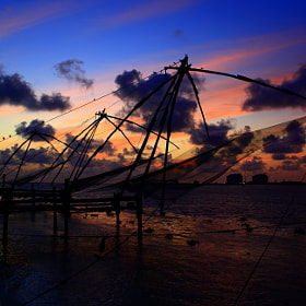Chinese fishing net by Pranab Ghosh (PranabGhosh)) on 500px.com