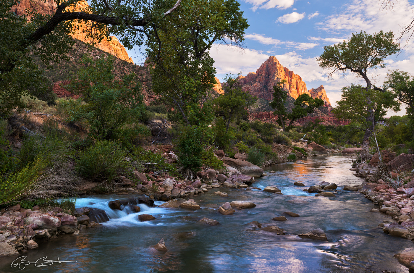 Photograph The Watchman on the Virgin River by Björn Burton on 500px