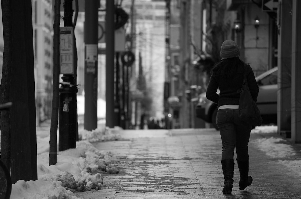 Photograph Walking in Montreal by Emmanuel Dubois on 500px
