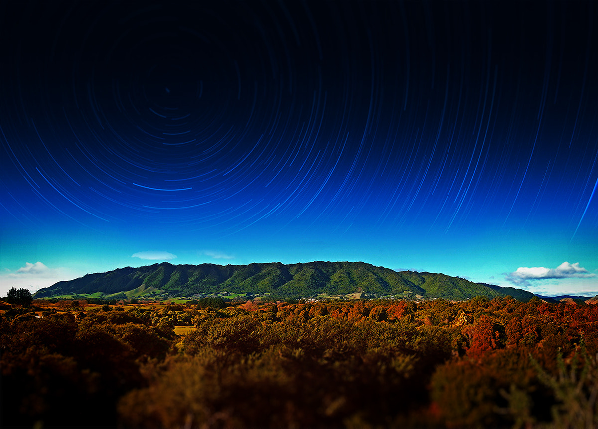 Photograph Mont. with rotating stars by Naibank Eng on 500px