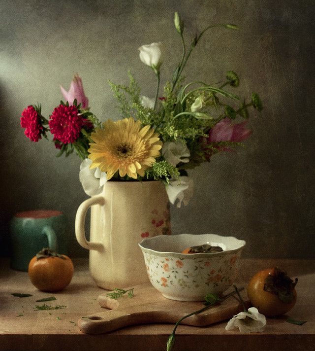 Photograph Flowers and fruits by Anna  Nemoy on 500px