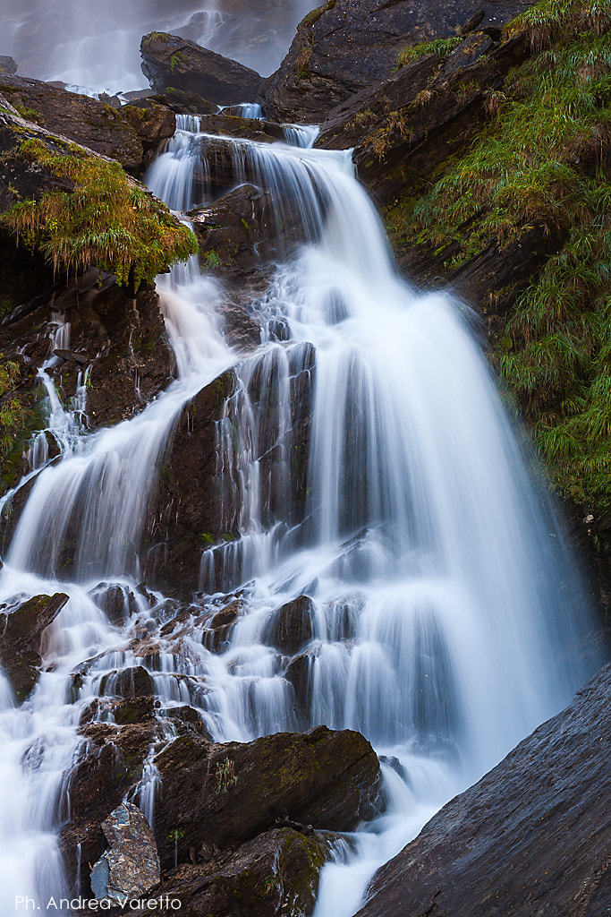 Photograph Lenteney waterfall by Andrea Varetto on 500px