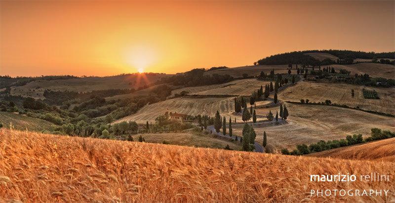 Photograph Val d'Orcia sunrise by Maurizio Rellini on 500px