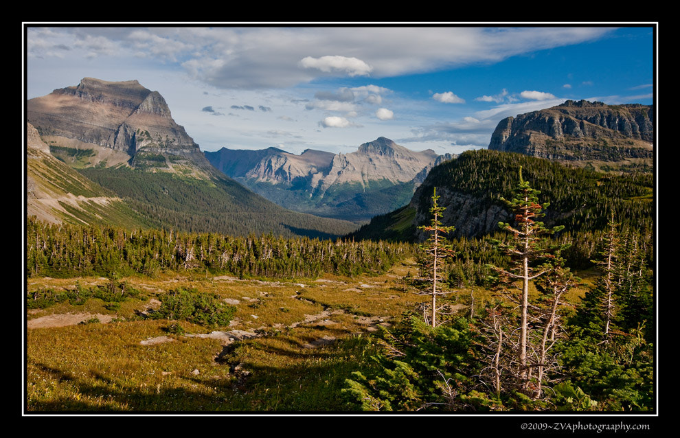 Photograph Looking East from Logan Pass by Zeph Van Allen on 500px