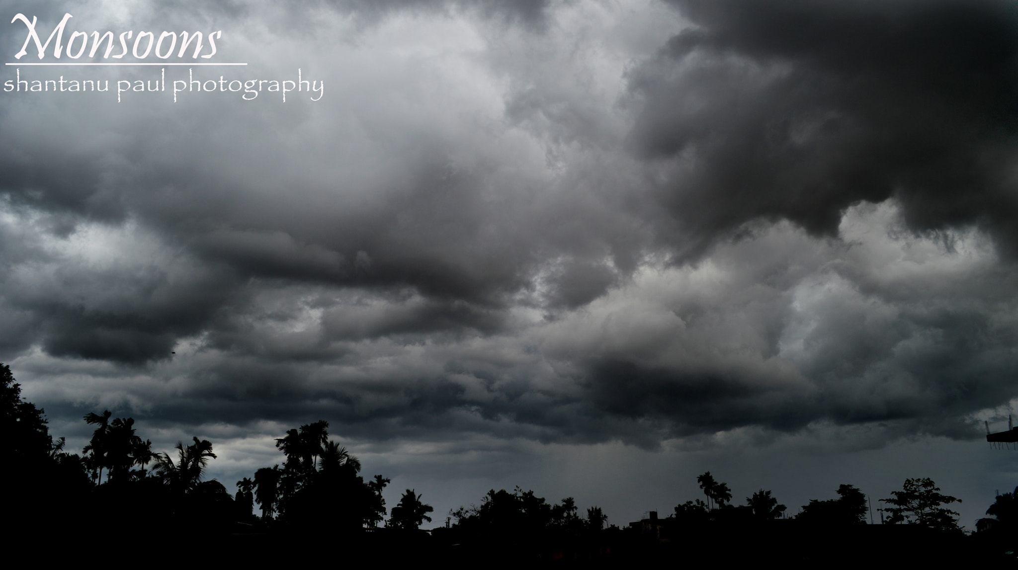 Photograph Monsoons overhead by Shantanu Paul on 500px