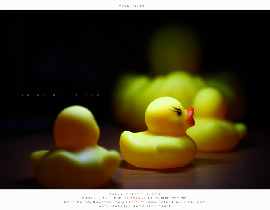 Photograph WALK  BEHIND by viewfinder7 on 500px
