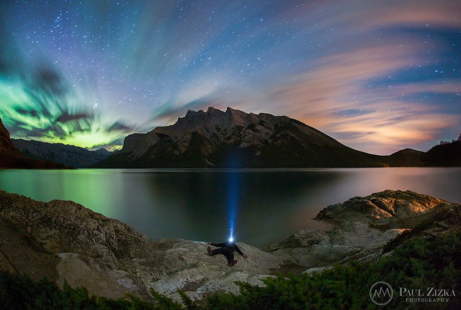 The Flow of the Night by Paul Zizka on 500px.com
