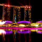Christmas Lighting @ Marina Bay Sands, Singapore
