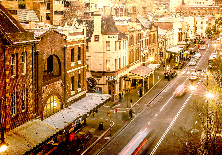 Photograph The Rocks Sydney's Old Quarter by Travis Chau on 500px