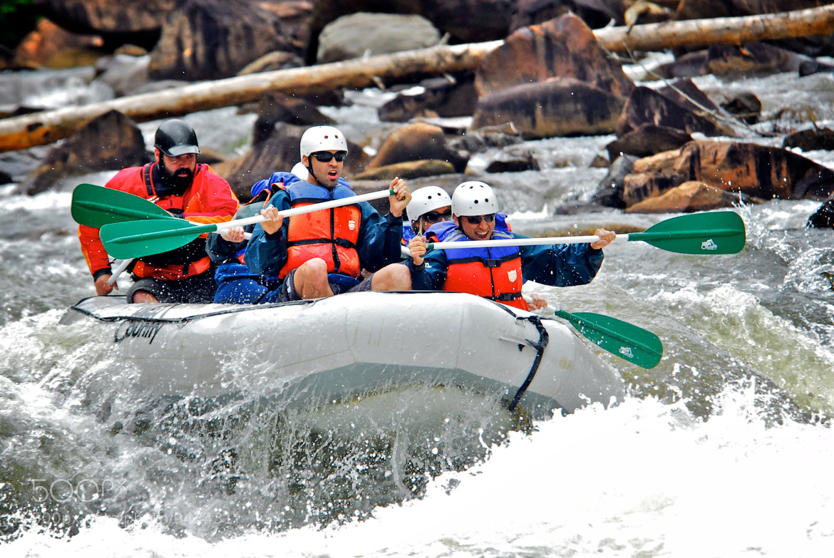 Photograph White Water Rafting by Brian McDonald on 500px