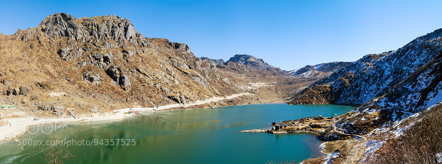 Озеро Цонгмо - ледниковое озеро в Восточном Сиккиме, Индия. Tsongmo Lake - a glacial lake in the East Sikkim (India) by Oleg Ivanov on 500px