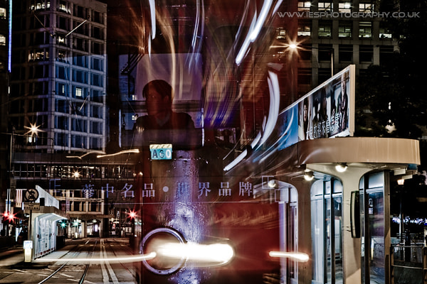 Photograph Ghost Tram in Hong Kong by Ian Schofield on 500px