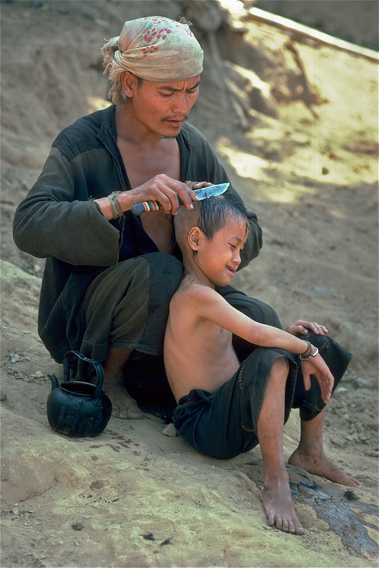Photograph Traditional haircut by john spies on 500px