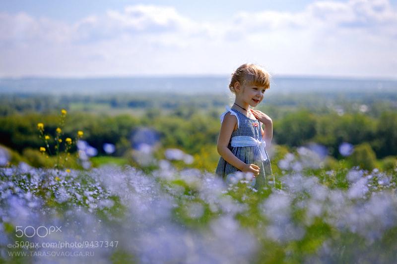 в синем поле by Olga Tarasova (TarasovaOlga) on 500px.com