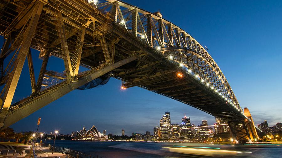 Sydney Harbour Bridge by YC Cheng on 500px.com