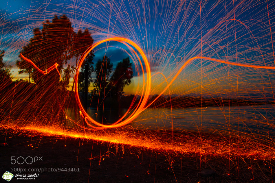 Photograph Circle of Fire by shimon mentel on 500px
