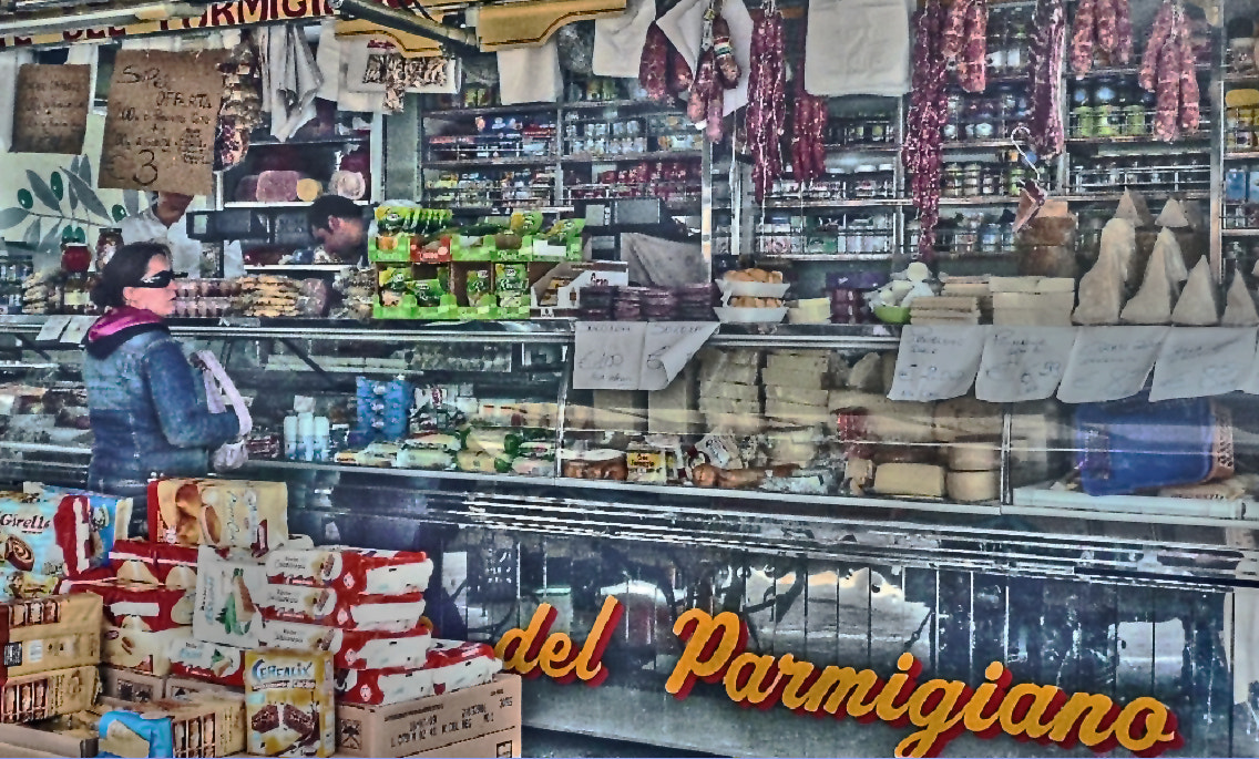 Photograph I'll Have A Pound Of Parmiaginao by Mark Luftig on 500px