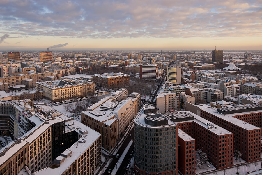 Photograph Above Berlin by Henning Hansen on 500px