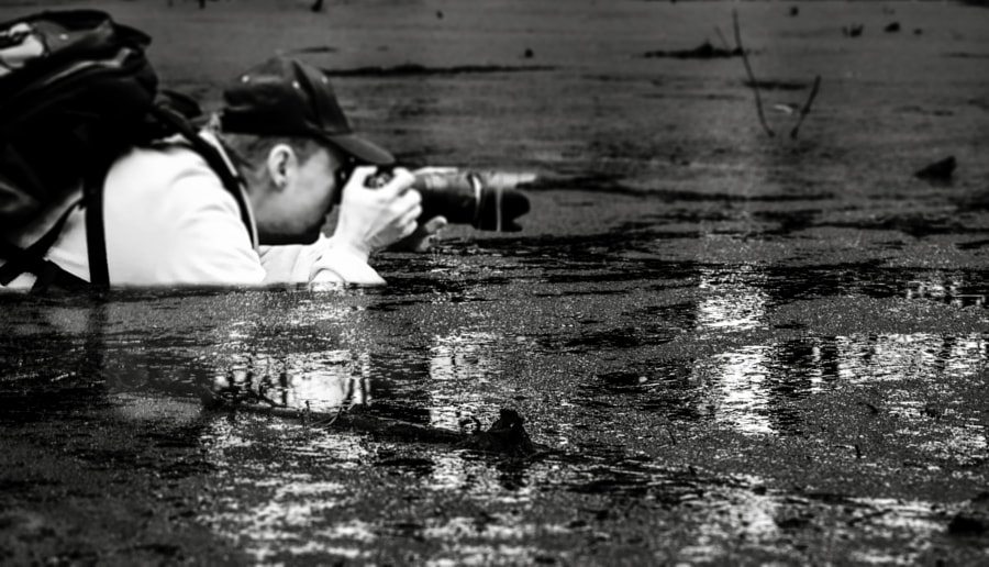 Photograph Getting The Shot by Joe Melee on 500px